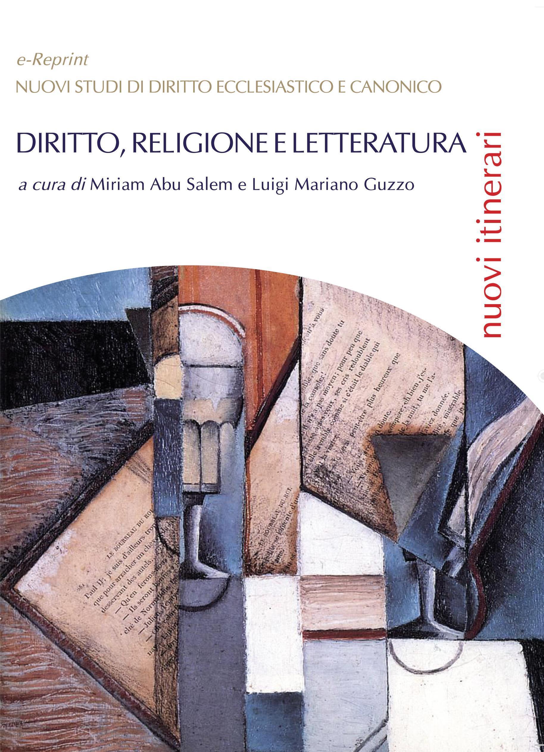 Diritto, religione e letteratura