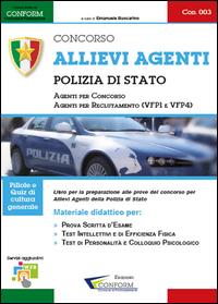003   Concorso Allievi Agenti Polizia di Stato (Prova scritta d'esame e TPA)