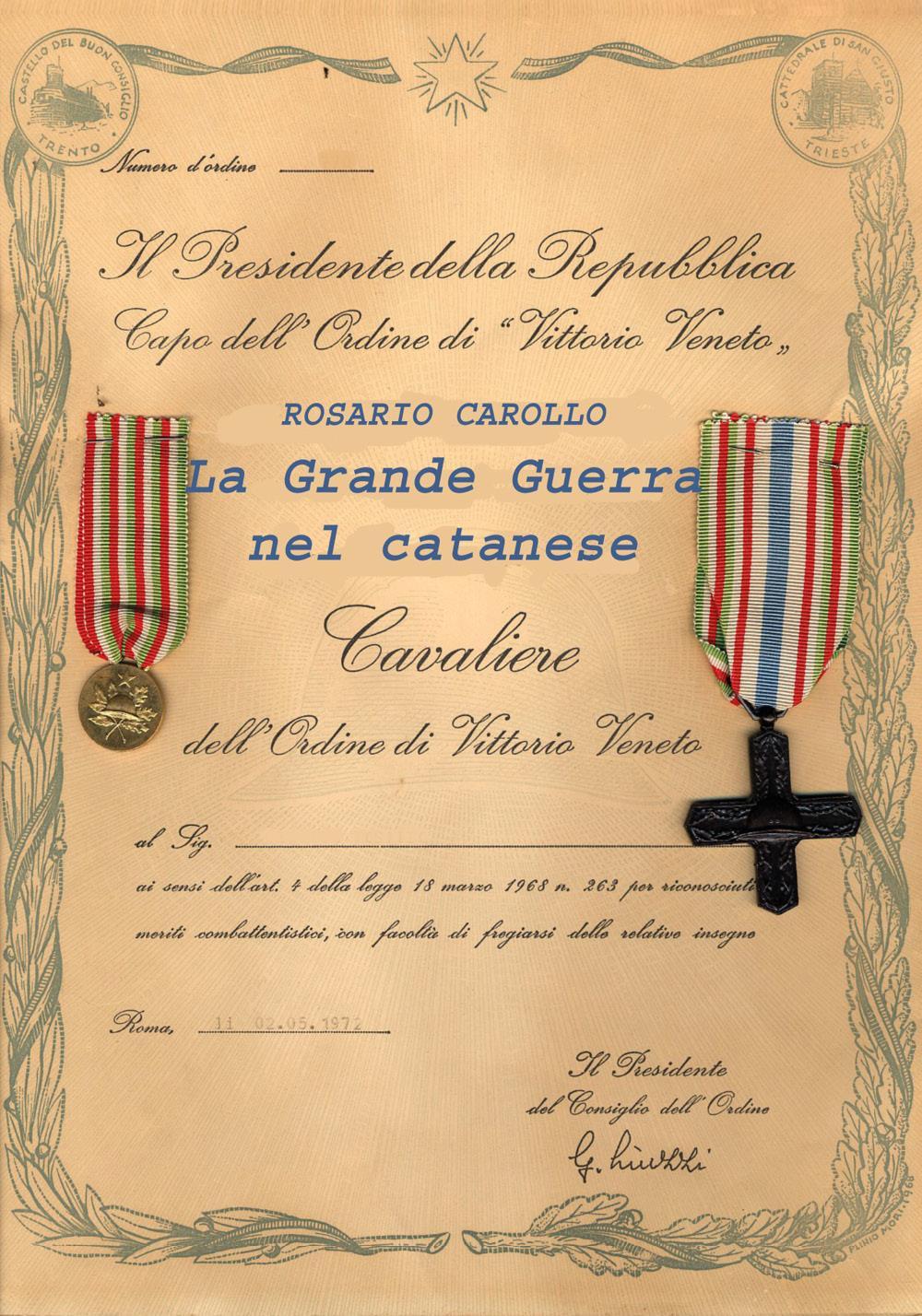 La Grande Guerra nel catanese