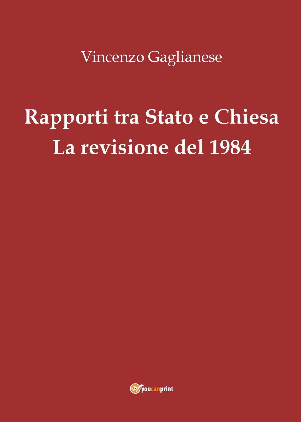 Rapporti tra Stato e Chiesa. La revisione del 1984
