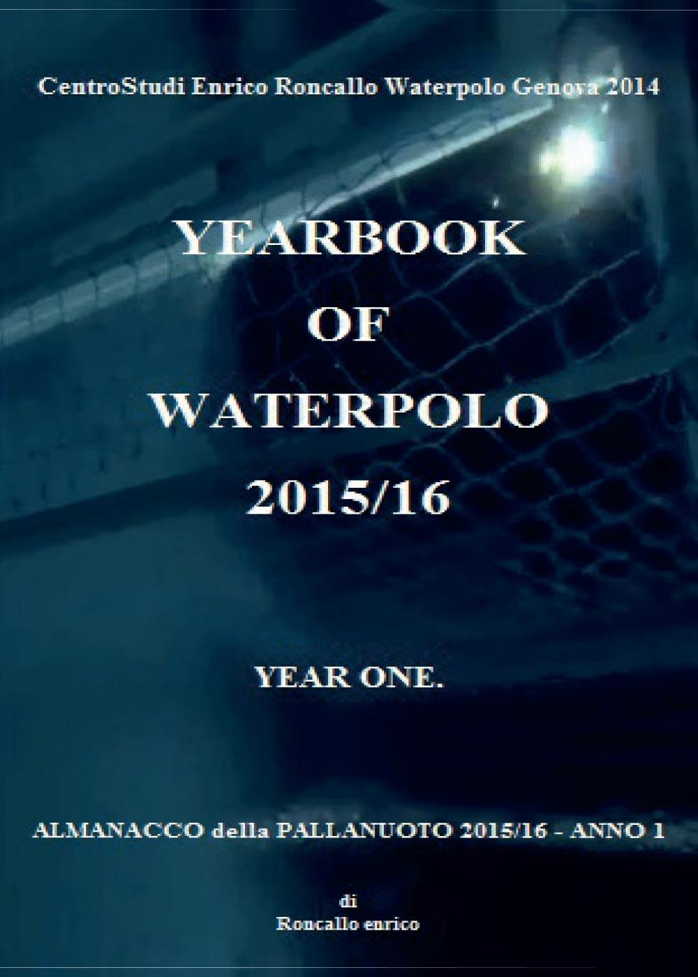 Yearbook of waterpolo 2015/16