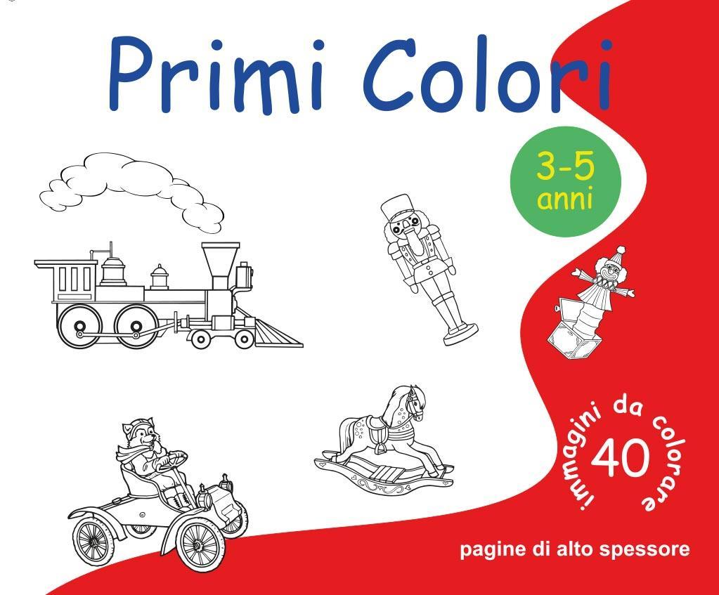 Primi Colori  -  40 immagini da colorare