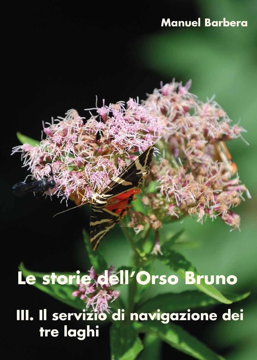 Le storie dell'Orso Bruno. III. Il servizio di navigazione dei tre laghi.