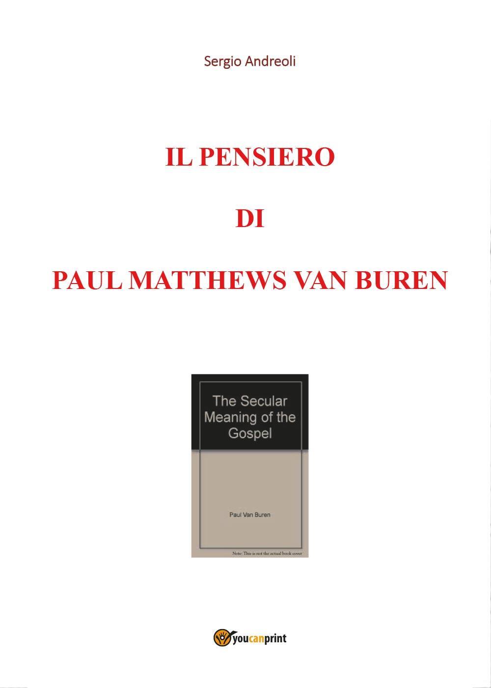 Il pensiero di Paul Matthews Van Buren
