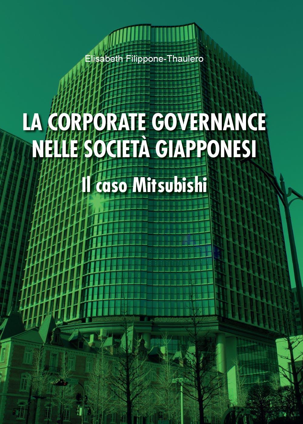 La corporate governance nelle società giapponesi. Il caso Mitsubishi