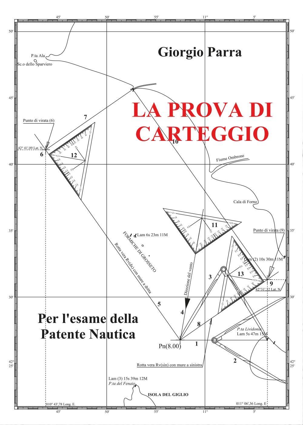 La Prova di Carteggio per l'esame della patente nautica