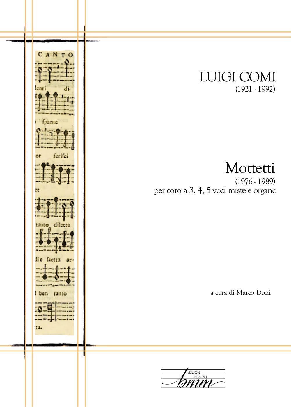 Luigi Comi - Mottetti