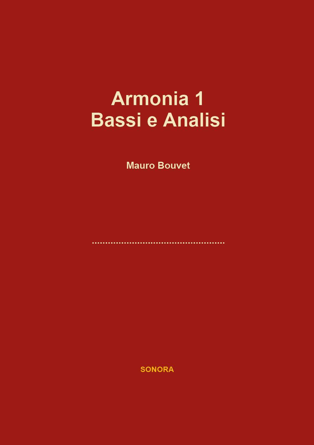 Armonia 1 Bassi e Analisi