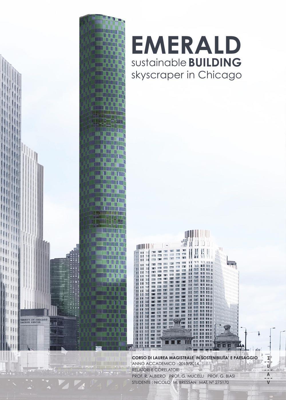 EMERALD sustainable building skyscraper in Chicago