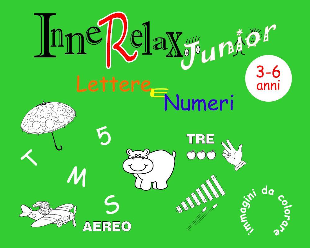 InneRelax Junior - Lettere e Numeri - immagini da colorare