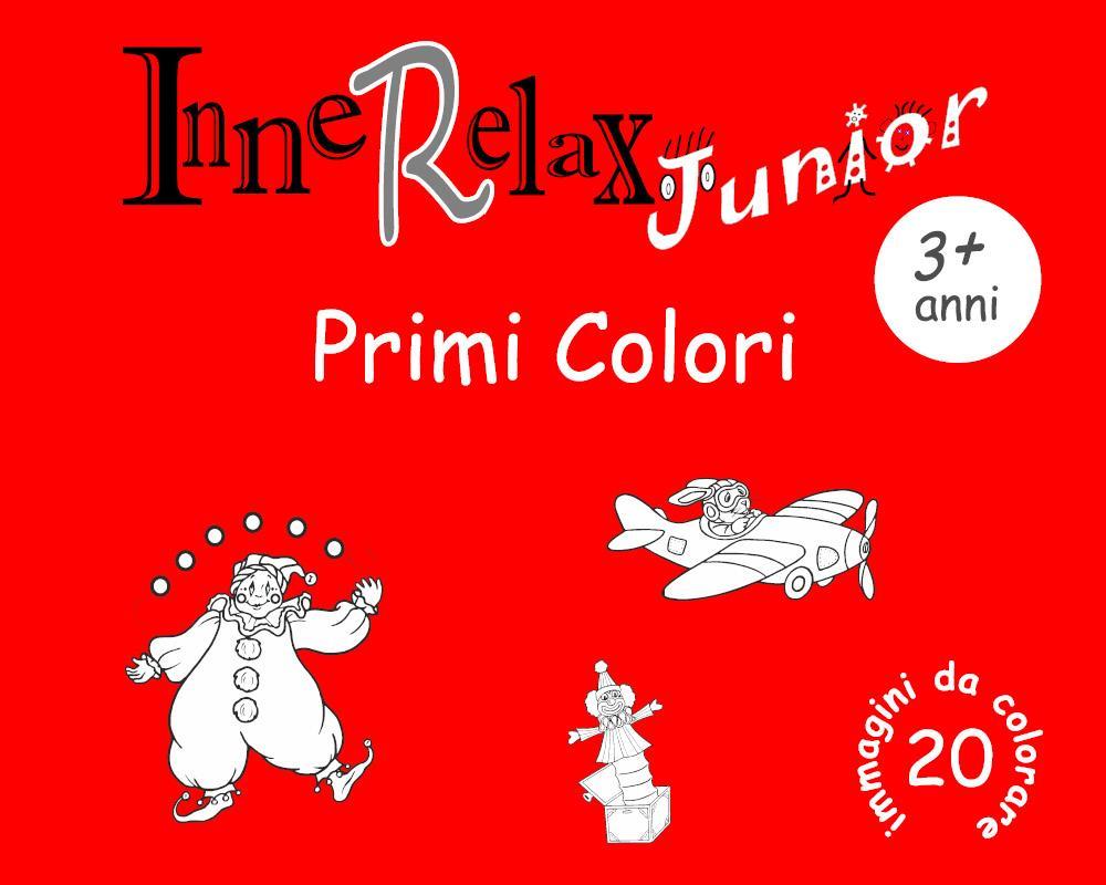 InneRelax Junior - Primi Colori - 20 immagini da colorare