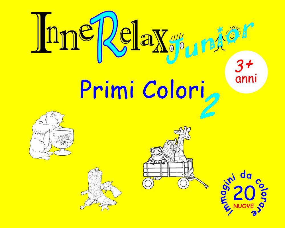 InneRelax Junior - Primi Colori 2 - 20 immagini da colorare