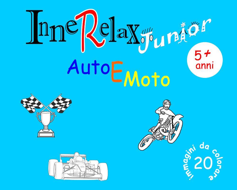 InneRelax Junior - Auto e Moto - 20 immagini da colorare