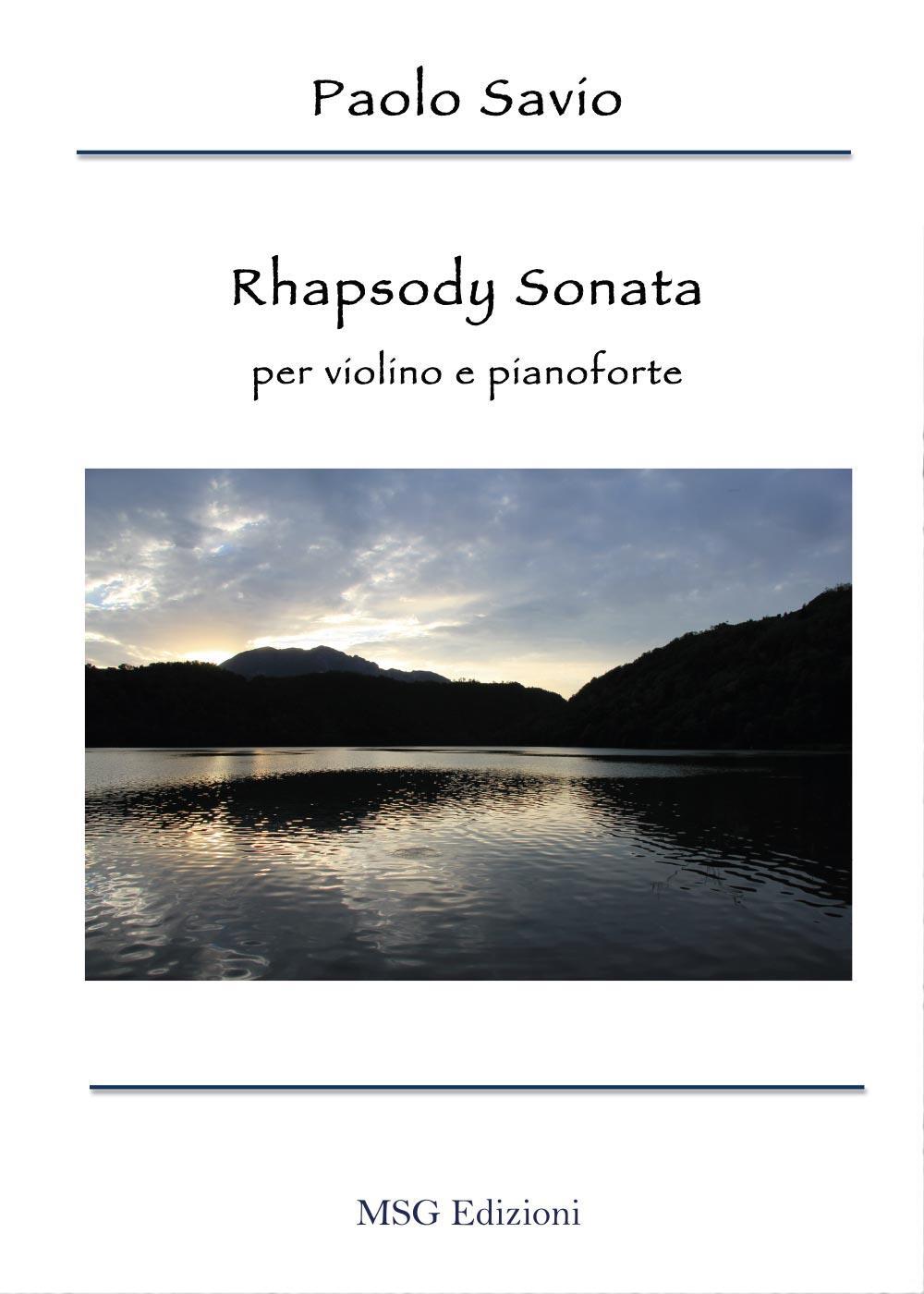 Rhapsody Sonata per violino e pianoforte