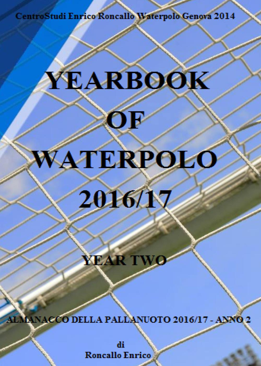Yearbook of waterpolo 2016/17