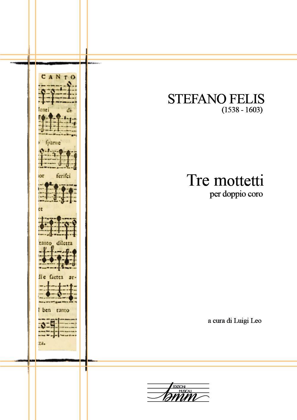 Tre mottetti per doppio coro