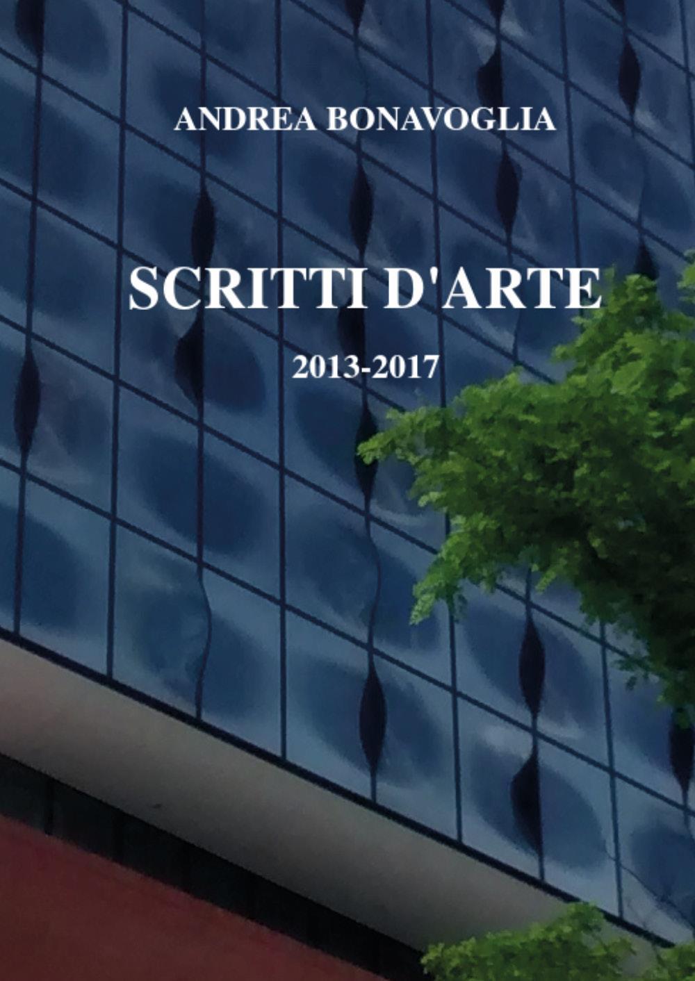 Scritti d'arte 2013-2017