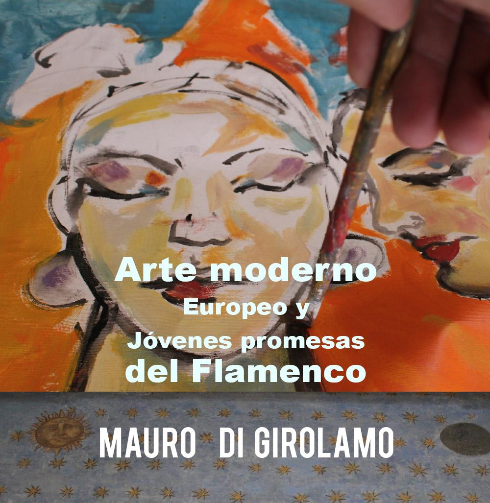 Arte moderno europeo y jóvenes promesas del Flamenco