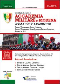 017A | Concorso Accademia Militare di Modena Arma dei Carabinieri (Prova di Preselezione)