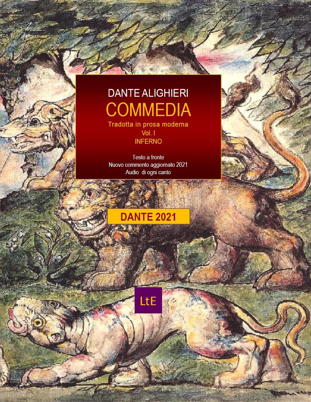 COMMEDIA tradotta in prosa moderna Vol. I Inferno