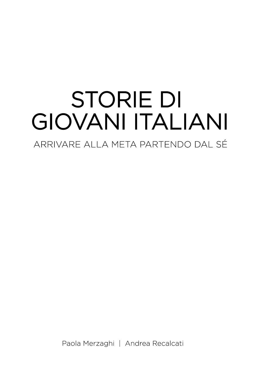 Storie di Giovani Italiani