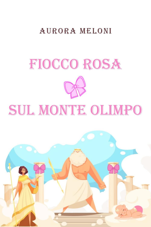 Fiocco rosa sul Monte Olimpo