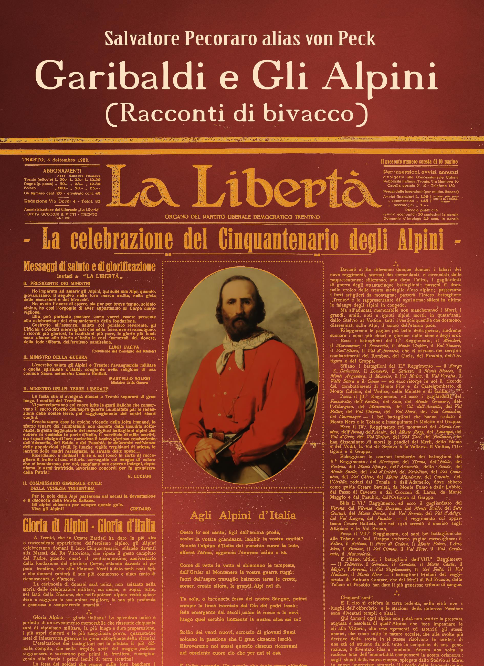 Garibaldi e gli Alpini (Racconti di Bivacco)