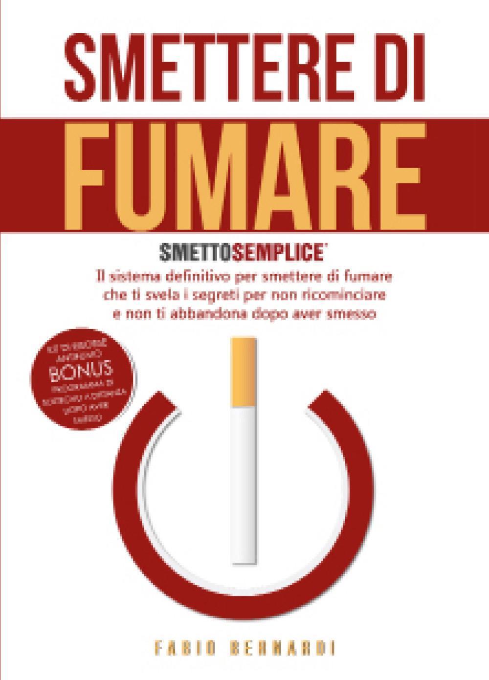 Smettere di fumare: smetto semplice