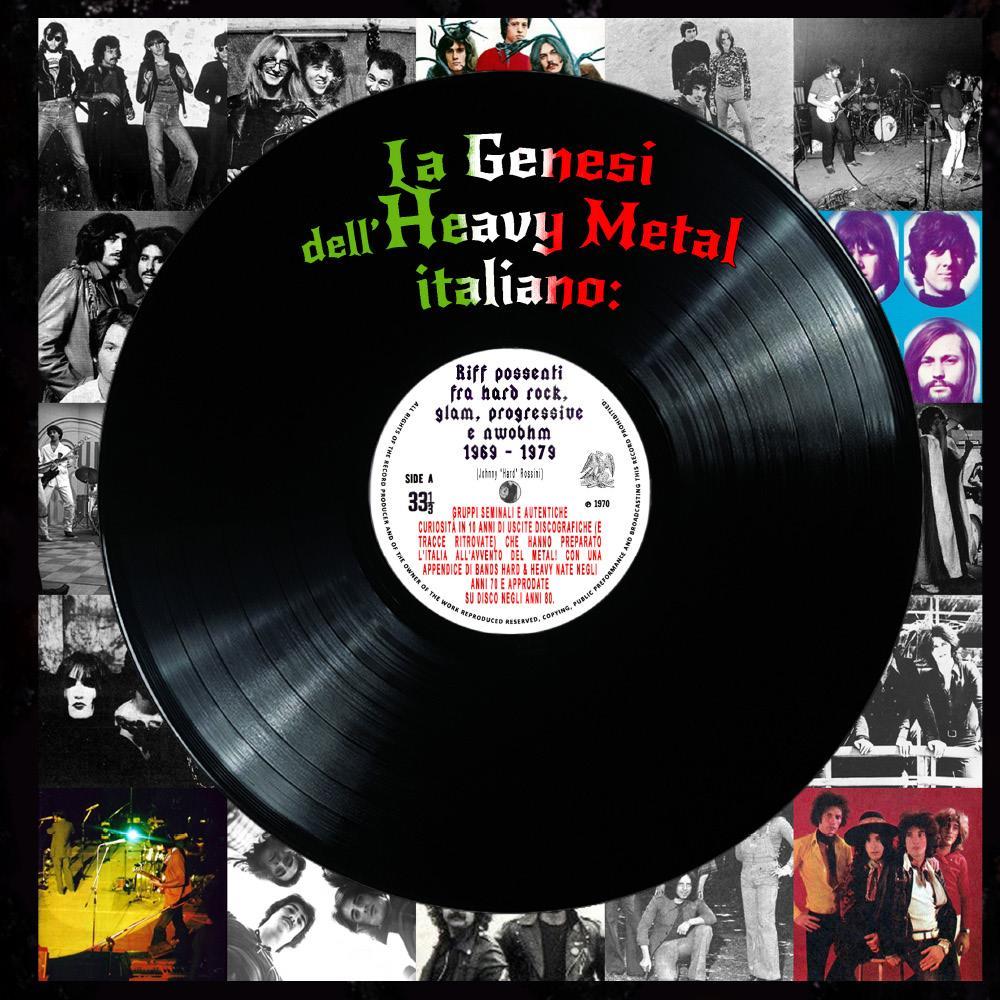 La genesi dell'Heavy Metal italiano: Riff possenti fra hard rock, glam, progressive e NWOBHM (1969 - 1979)
