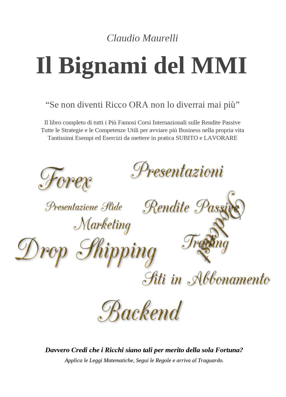 Il Bignami del MMI