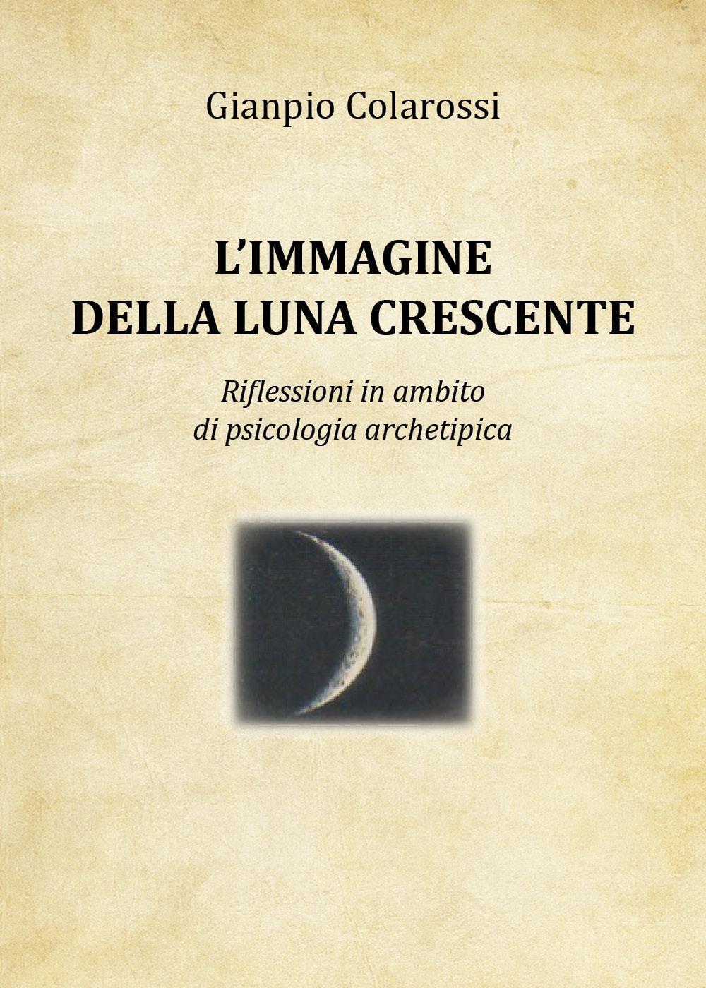 L'immagine della luna crescente