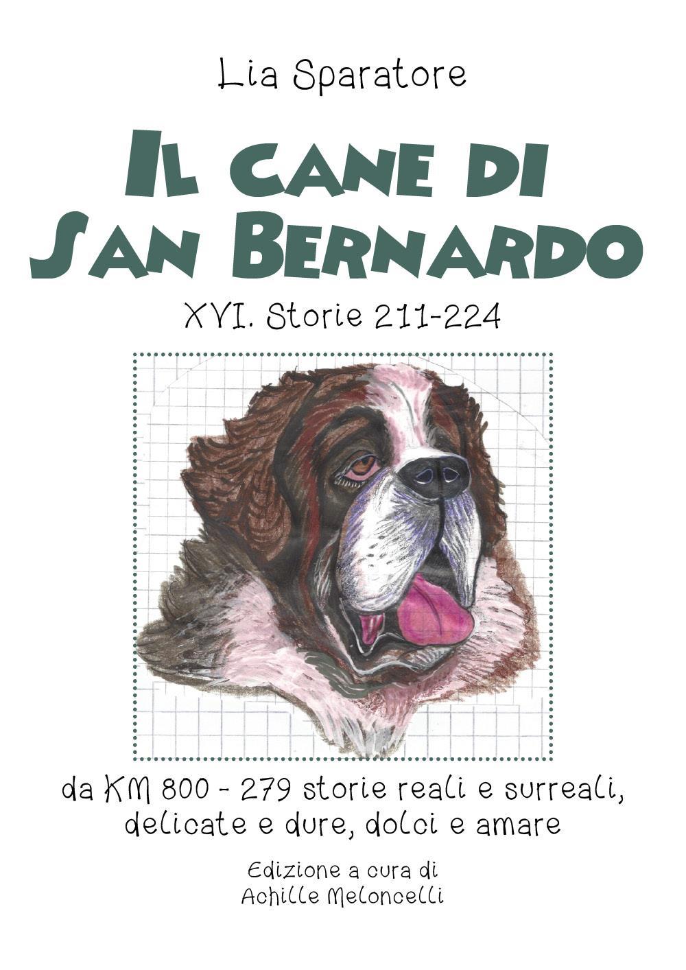 Il cane di San Bernardo XVI. Storie 211-224, da KM 800, 279 storie reali e surreali, delicate e dure, dolci e amare