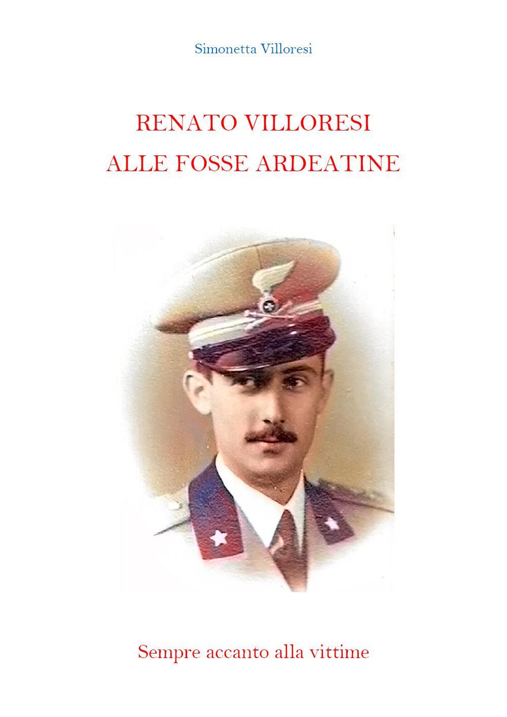 Renato Villoresi alle Fosse Ardeatine