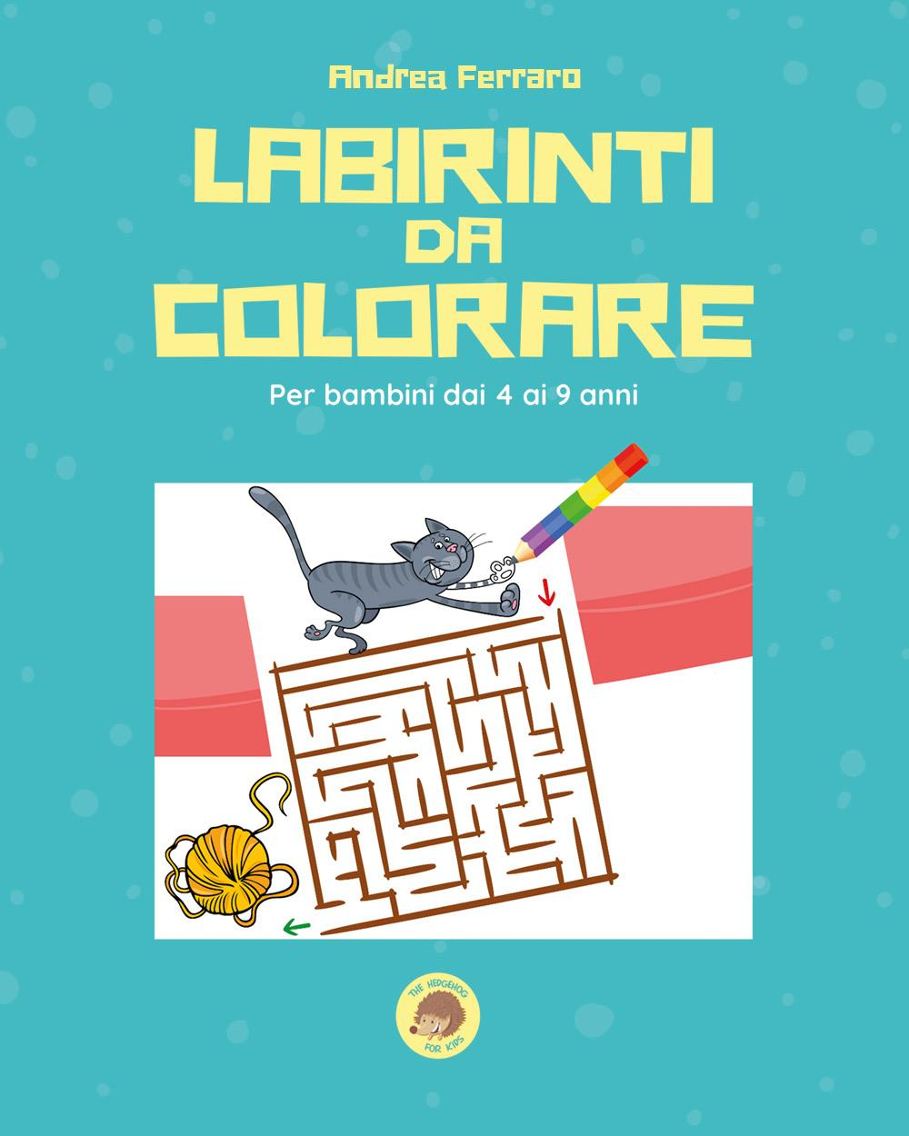 Labirinti da colorare