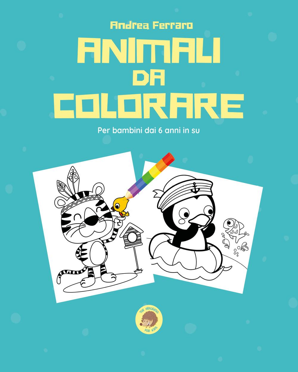 Animali da colorare
