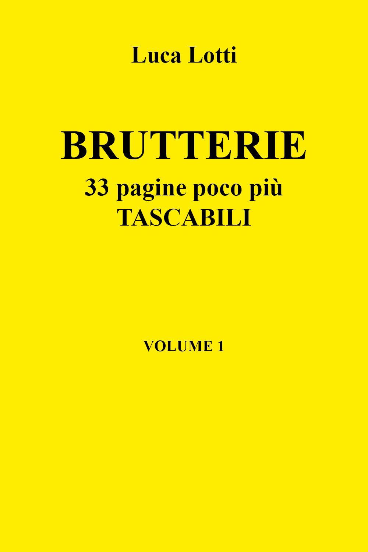 Brutterie. 33 pagine poco più tascabili