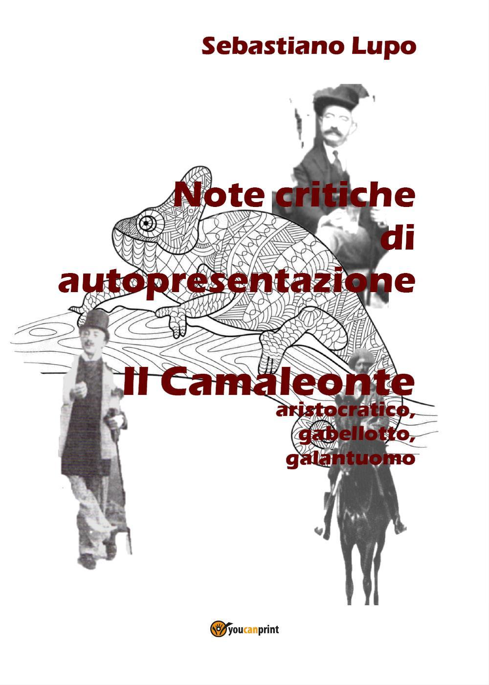 Note critiche di autopresentazione del romanzo Il Camaleonte aristocratico, gabellotto, galantuomo