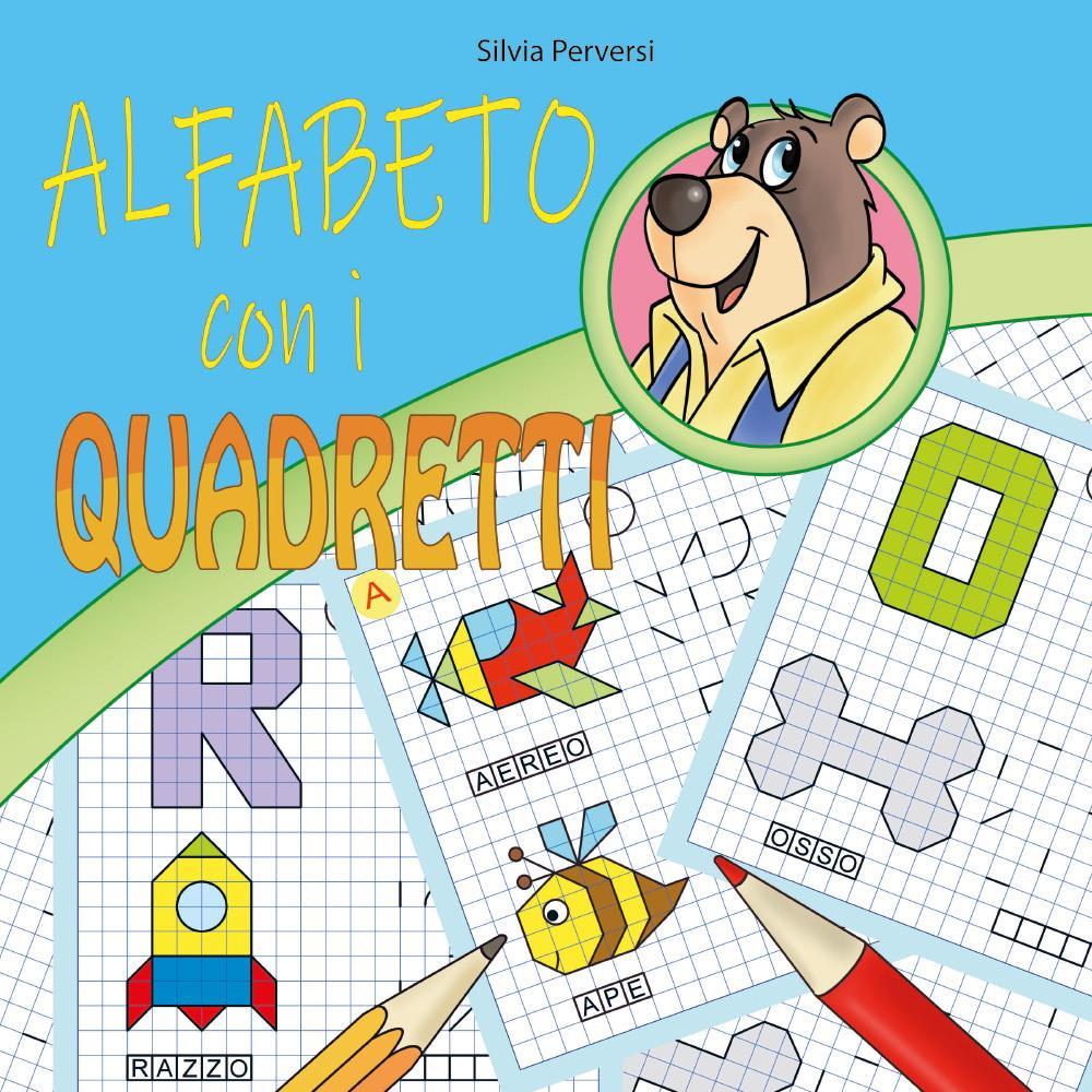 Alfabeto con i quadretti