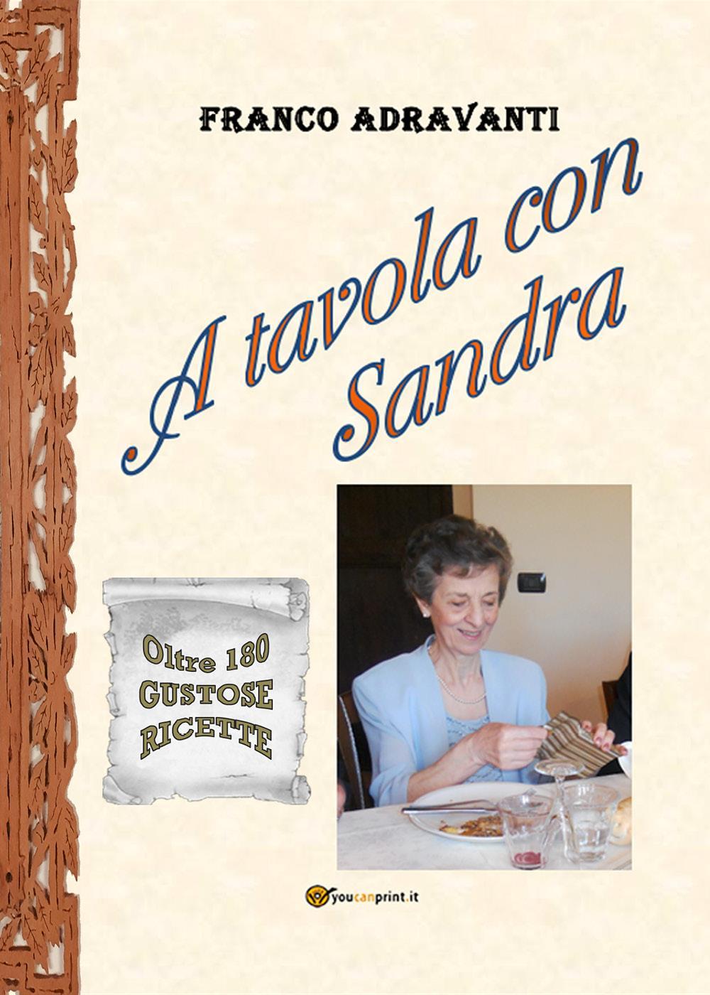A tavola con Sandra