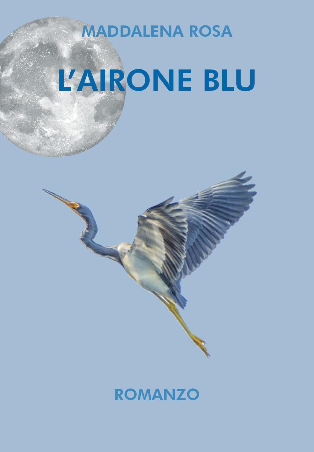 L'airone blu