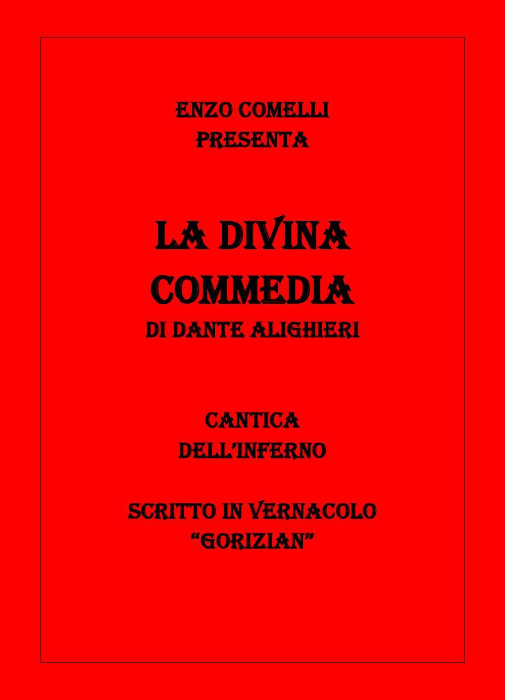 La Divina Commedia. Cantica dell'Inferno