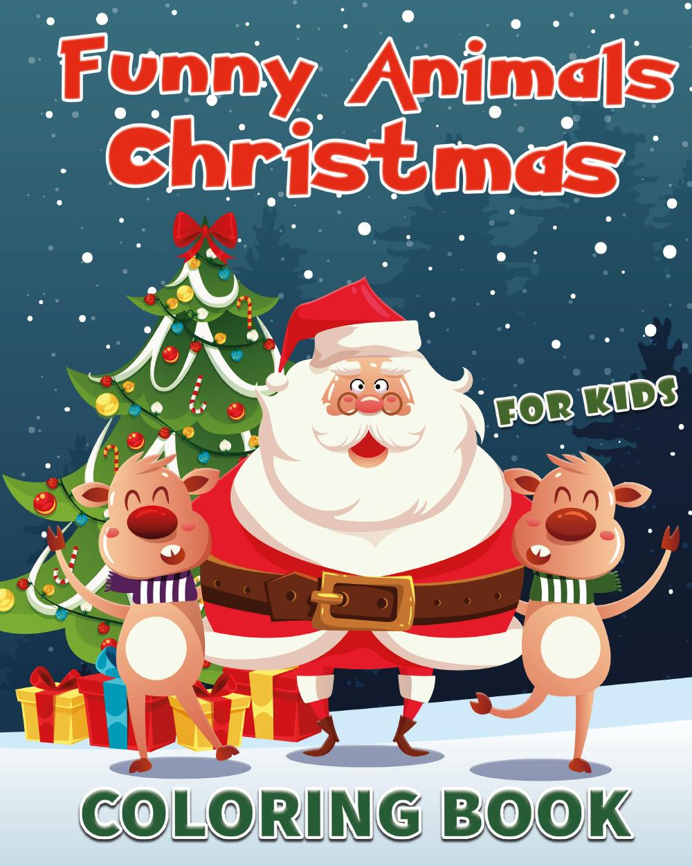 Funny Animals Christmas for Kids
