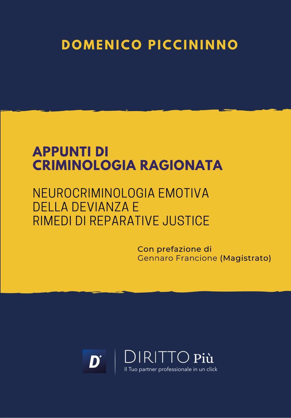 Appunti di Criminologia Ragionata